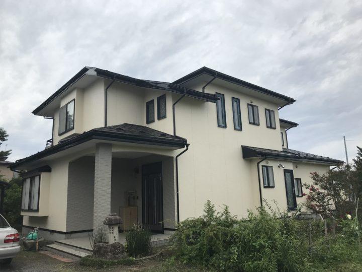 八戸市 S様邸 屋根・外壁塗装工事